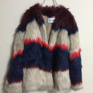 アダムエロぺ(Adam et Rope')のアダムエロペ ファー コート 未使用 冬 スノー 毛皮(毛皮/ファーコート)
