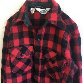 ウールリッチ(WOOLRICH)のWOOLRICH ( ウールリッチ ) ウール シャツ ※袖に破れあり(シャツ)