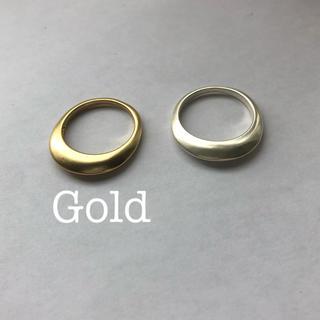 トゥデイフル(TODAYFUL)のマットリング gold  プラージュ イエナ(リング(指輪))