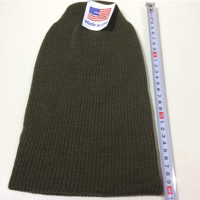 ROTHCO(ロスコ)のロスコニット帽 オリーブ 新品 メンズの帽子(ニット帽/ビーニー)の商品写真