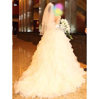 AN様専用 ウェディングベール ショート ホワイト(ウェディングドレス)