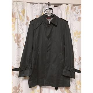 AOKI - フォーマルステンカラーコート トレンチコート スーツ 喪服ビジネスメンズアウター