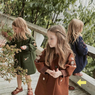 キャラメルベビー&チャイルド(Caramel baby&child )の韓国子供服 Emily コート 90(コート)