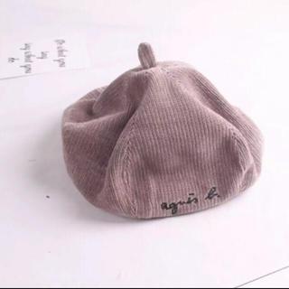 agnes b. - アニエスベー パロディ キッズ ベレー帽