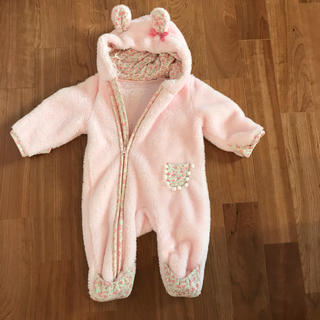 Nishiki Baby - スウィートガール カバーオール 80 サイズ80 ボアカバーオール 防寒 コート