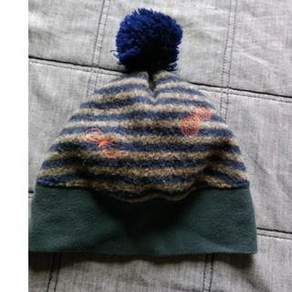 ミナペルホネン(mina perhonen)のミナペルホネン キッズ ニット帽(帽子)
