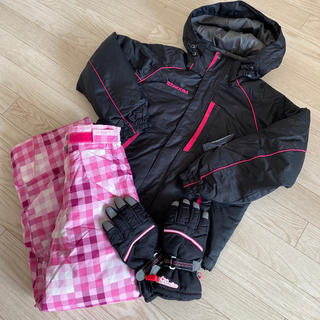 オンヨネ(ONYONE)のRESEEDA オンヨネ 女児スキーウェア 140cm グローブ付(ウエア)