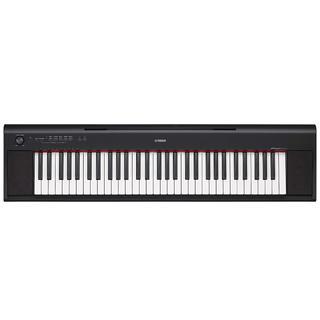 ヤマハ YAMAHA 電子キーボード piaggero ブラック NP-12B(電子ピアノ)