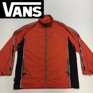 ヴァンズ(VANS)のVANS バンス 90' ナイロン ジャケット USA オレンジ  Mサイズ (ナイロンジャケット)