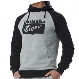 Onitsuka Tiger - 【新品未使用】UK オニツカタイガー スウェットパーカー 灰×黒 S 送料無料
