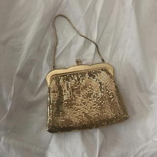 サンタモニカ(Santa Monica)のvintage gold bag(ハンドバッグ)