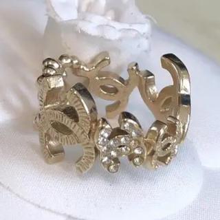 シャネル(CHANEL)のシャネル CCココマークリング(リング(指輪))