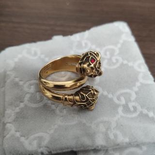 グッチ(Gucci)のgucci タイガーヘッドリング(リング(指輪))