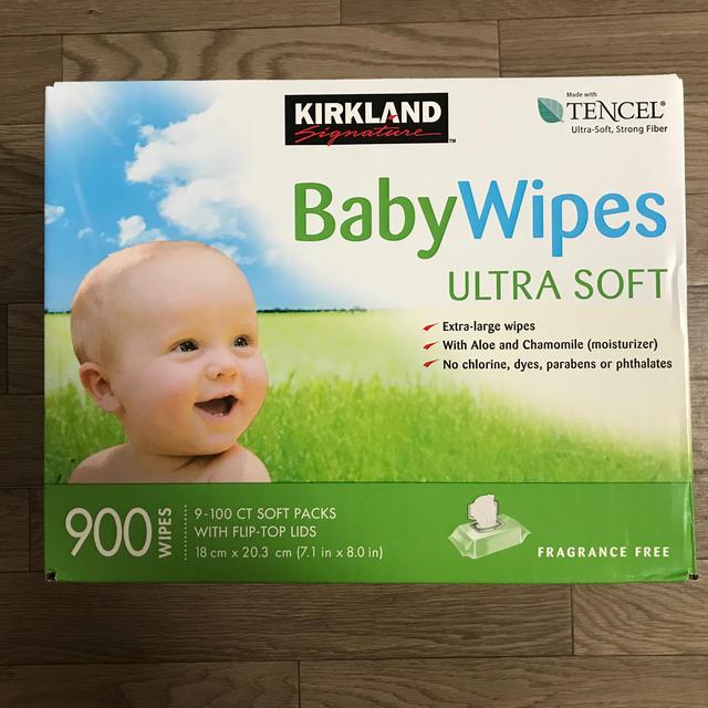 コストコ(コストコ)のKIRKLAND Baby Wipes キッズ/ベビー/マタニティのおむつ/トイレ用品(ベビーおしりふき)の商品写真