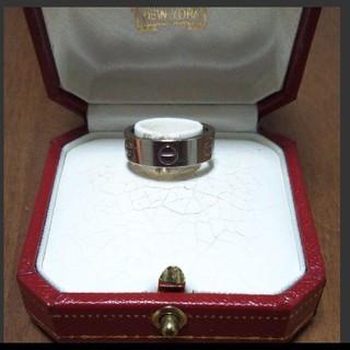 カルティエ(Cartier)のカルティエ ラブリング WG #50(リング(指輪))