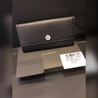BVLGARI - BVLGARI ブルガリクラシコ グレインレザー長財布ブラック新品未使用♪