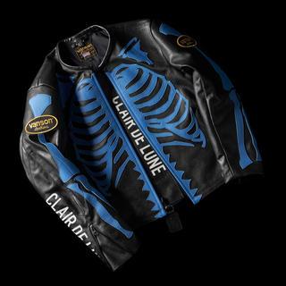 バンソン(VANSON)のCLAIR DE LUNE × VANSON Leather Jacket M(レザージャケット)