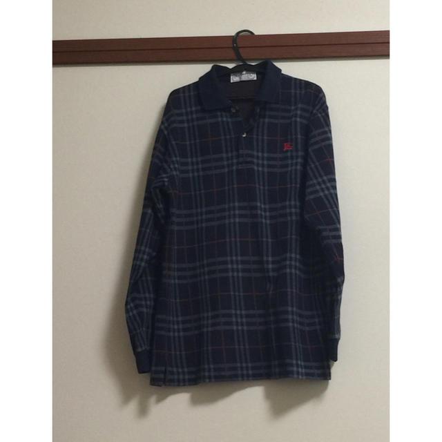 BURBERRY(バーバリー)のバーバリー BURBERRY 長袖 ポロシャツ(暖かい) レディースのトップス(ポロシャツ)の商品写真