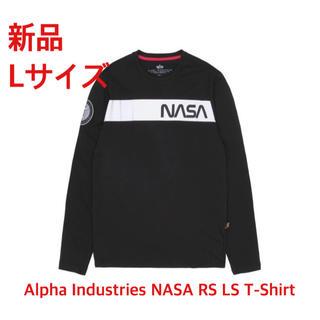 アルファ(alpha)のAlpha Industries NASA RS LS 半袖Tシャツ(Tシャツ/カットソー(七分/長袖))