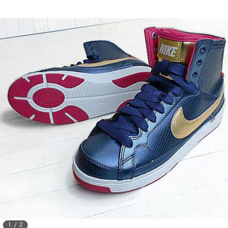 ナイキ(NIKE)のNIKE AIR TROUPE MID(スニーカー)