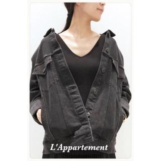 アパルトモンドゥーズィエムクラス(L'Appartement DEUXIEME CLASSE)の新品タグ付き 3×1 Denim Jacket L'Appartement (Gジャン/デニムジャケット)