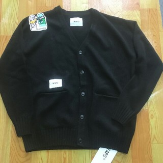 W)taps - WTAPS PALMER / SWEATER. WONY BLACK LARGE