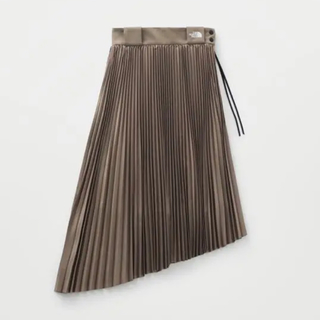 ハイク(HYKE)の THE NORTH FACE×HYKE  TEC PLEATED SKIRT(ロングスカート)
