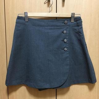 エニィスィス(anySiS)の美品  any  sis  ミニラップスカート(キュロット)