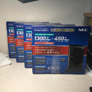 NEC - 【販売店保証付】NEC 無線LANルーター Aterm PA-WG1800HP3
