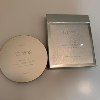 エトヴォス(ETVOS)の新品 エトヴォス ミネラルハイライトクリーム(フェイスカラー)