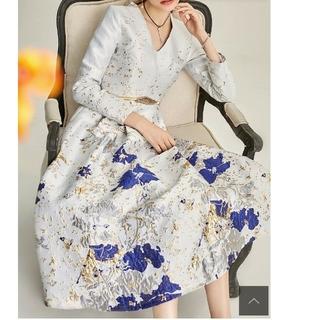 タダシショウジ(TADASHI SHOJI)の◎高級ドレス【469】(ロングワンピース/マキシワンピース)