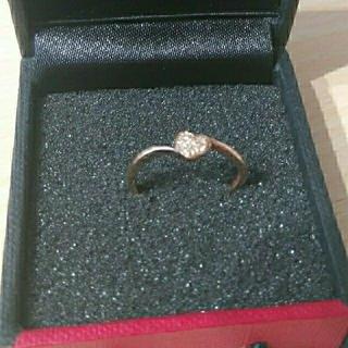 10Kダイヤリング キュートでかわいい❣️❣️(リング(指輪))