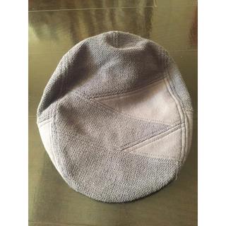 ユナイテッドアローズ(UNITED ARROWS)のほぼ未使用 ハンチング帽/グレー SHIPS, urban research(ハンチング/ベレー帽)