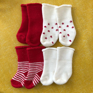 エイチアンドエム(H&M)のH&M ベビー靴下 0-3ヶ月 7.5センチ(靴下/タイツ)