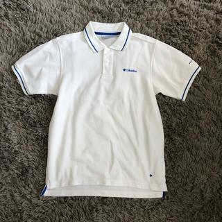 コロンビア(Columbia)のColumbia 白ポロシャツ【美品】(ポロシャツ)