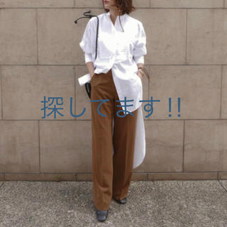 トゥデイフル(TODAYFUL)のetre tokyo バックロングテールシャツ(シャツ/ブラウス(長袖/七分))