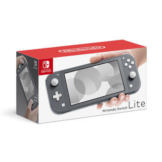ニンテンドースイッチ(Nintendo Switch)の【送料無料】Nintendo Switch Lite [グレー]  スイッチ(家庭用ゲーム機本体)