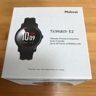 【美品】TicWatch E2 スマートウォッチ(腕時計(デジタル))
