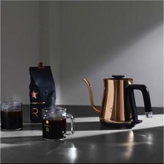 スターバックスコーヒー(Starbucks Coffee)のスターバックス リザーブ 限定バルミューダ ケトル スタバ(電気ケトル)
