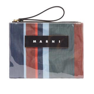マルニ(Marni)のMARNI マルニ ストライプ クラッチ ポーチ(クラッチバッグ)