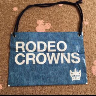 ロデオクラウンズ(RODEO CROWNS)のRODEOCROWNS デニム柄 ショップ袋(ショップ袋)