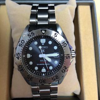 セイコー(SEIKO)のセイコー ダイバー腕時計•販売終了品•新品•未使用品 限定値引き(腕時計(アナログ))