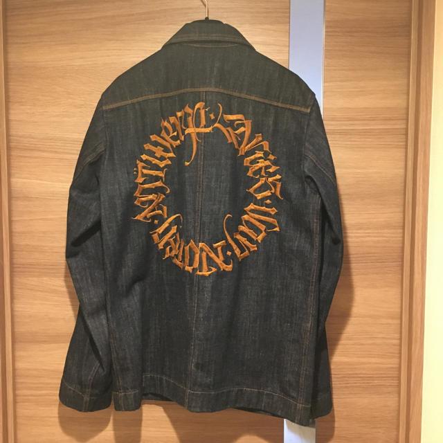 DRIES VAN NOTEN(ドリスヴァンノッテン)のdries van noten 17ss デニムジャケット メンズのジャケット/アウター(テーラードジャケット)の商品写真