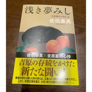 浅き夢みし(文学/小説)