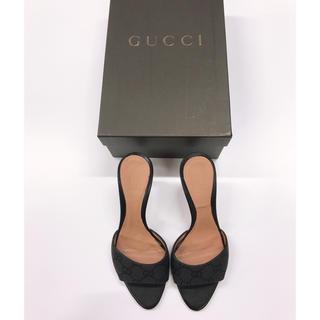 グッチ(Gucci)のGUCCI ミュール ブラック(ミュール)