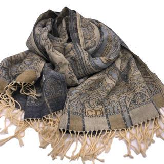 クリスチャンディオール(Christian Dior)のクリスチャンディオール マフラーショールブランケット (マフラー/ショール)