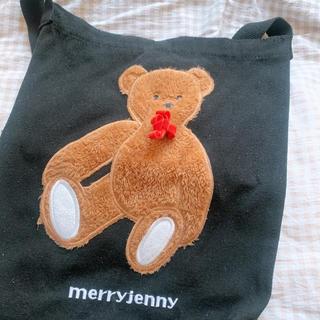 メリージェニー(merry jenny)のmerry jenny ムック本 くまトート 2018(ファッション/美容)