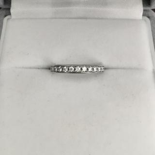 ヨンドシー(4℃)のcanal 4℃ ダイヤモンド エタニティ リング Pt900 2.5mm(リング(指輪))