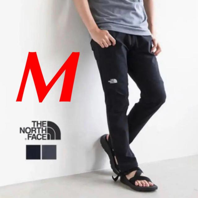 THE NORTH FACE(ザノースフェイス)の【新品】ノースフェイス アルパインライトパンツ ブラック M NT52927 メンズのパンツ(ワークパンツ/カーゴパンツ)の商品写真