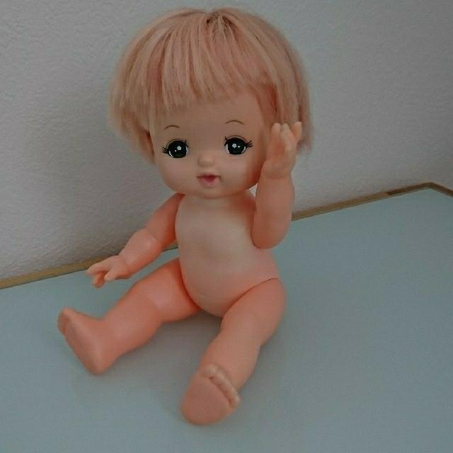 PILOT(パイロット)のメルちゃん 人形 本体 ショートカット キッズ/ベビー/マタニティのおもちゃ(ぬいぐるみ/人形)の商品写真